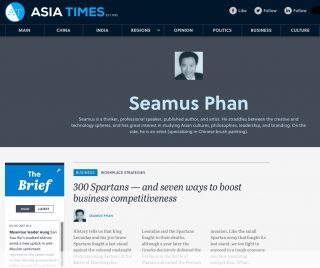 Seamus Phan - opinion contributor to leading media Asia Times