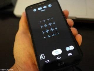 Holding a modern smartphone