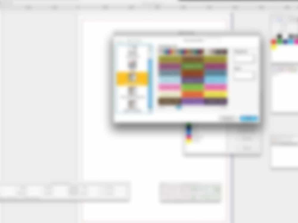 graphic design software blurred