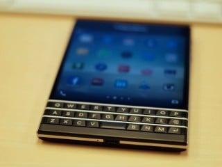 BlackBerry Passport QWERTY keyboard