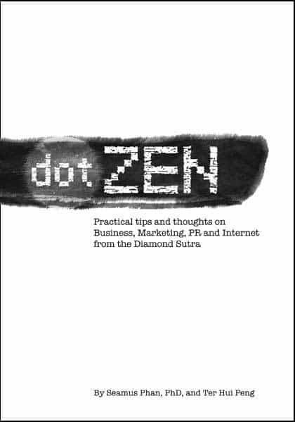 Dot ZEN book - ISBN 981045645x