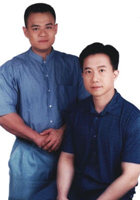 Brothers and co-authors - CJ Phan (left) and Seamus Phan (right)