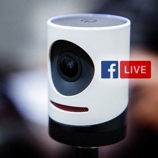 Facebook Live - livestreaming by our Mevo Camera system