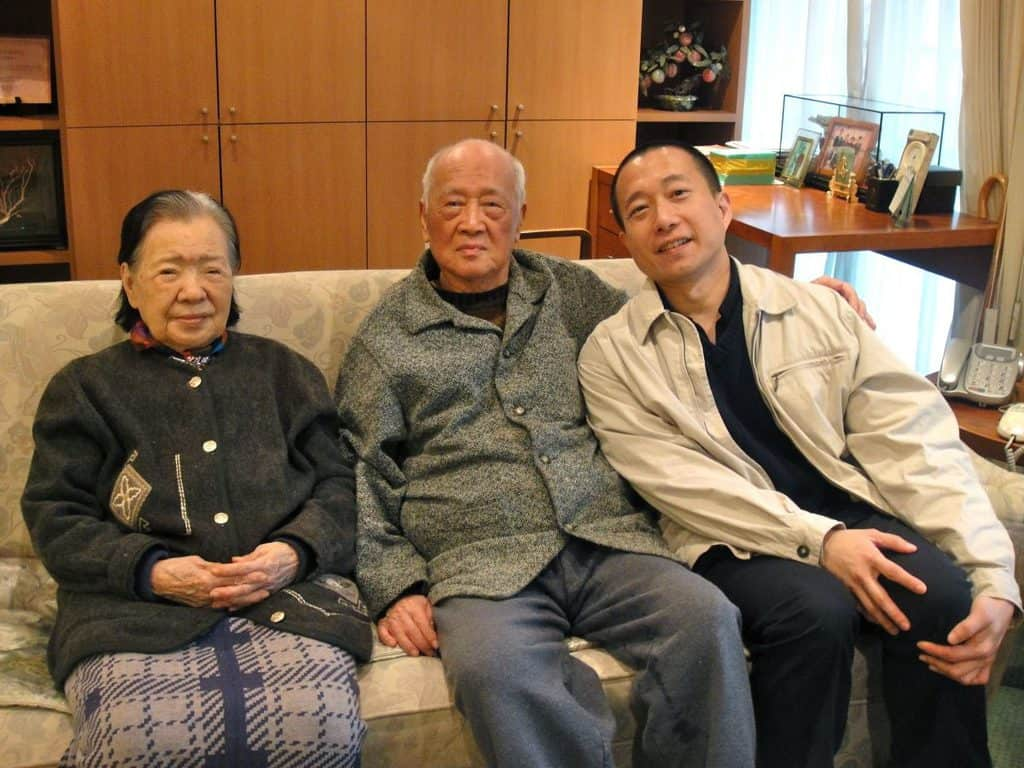 My last encounter with my grandparents - Grandpa 丁幼泉, army general, book author, professor, and grandma 王長慧, prominent parliamentarian, Taiwan