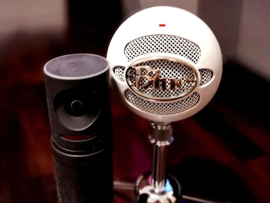 Mevo & Blue Microphone for video livestream