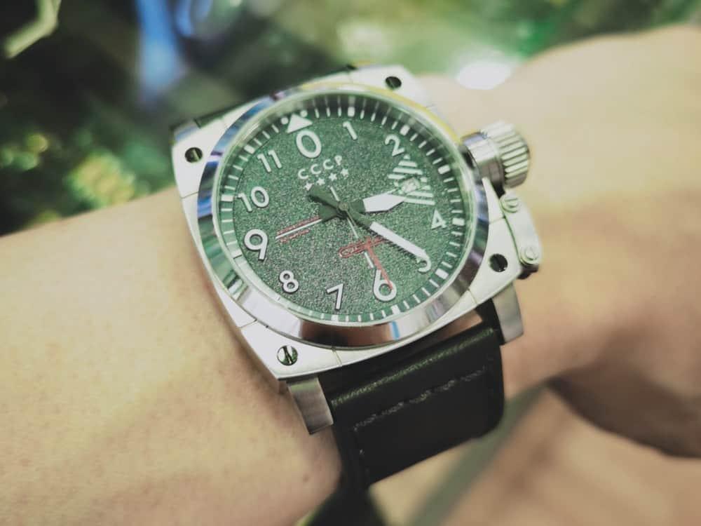 CCCP Gurevich Russian wrist watch
