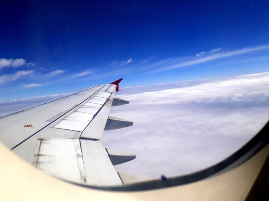 flight to the skies