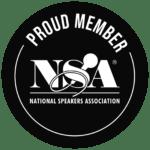 Seamus Phan - long-time pround member of National Speakers Association USA
